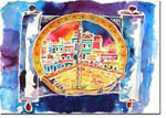 Michele Pulver/Another Creation Jewish New Year Cards - Oh Jerusalem