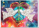 Michele Pulver/Another Creation Jewish New Year Cards - Doves of Peace