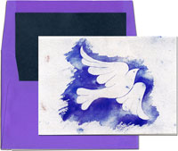 Designer's Connection Jewish New Year Cards - Dove of Peace