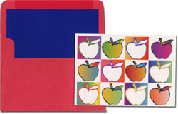 Designer's Connection Jewish New Year Cards - Apples for a Sweet Year