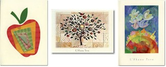 Jewish New Year cards by Indelible Ink