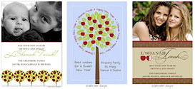 Jewish New Year cards by Take Note Designs