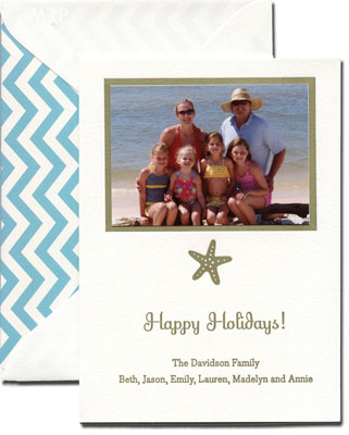 Boatman Geller - Create-Your-Own Photo Card with Icon Medium-Sized Letterpress Photocards