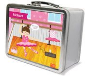 Spark & Spark Lunch Box - Ballerina Studio (Brunette Girl)