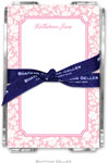 Boatman Geller - Create-Your-Own Memo Sheets With Acrylic Holder (Petite Flower)