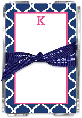 Boatman Geller - Create-Your-Own Memo Sheets With Acrylic Holder (Ann Tile)