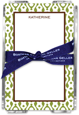 Boatman Geller - Create-Your-Own Memo Sheets With Acrylic Holder (Cameron)
