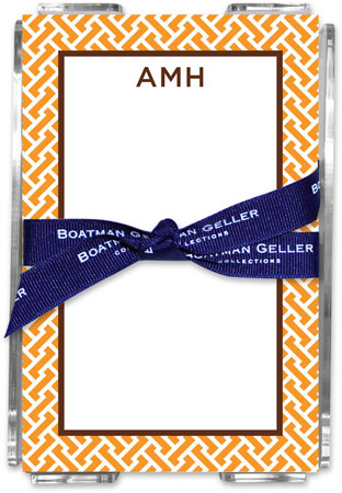 Boatman Geller - Create-Your-Own Memo Sheets With Acrylic Holder (Stella)
