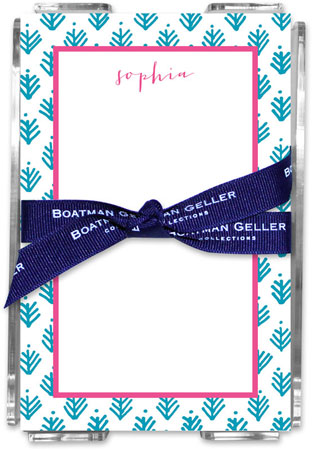 Boatman Geller - Create-Your-Own Memo Sheets With Acrylic Holder (Sprig)