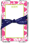 Boatman Geller - Create-Your-Own Memo Sheets With Acrylic Holder (Eliza Floral)