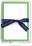 Boatman Geller Memo Sheets with Acrylic Holder - Dot Green (Blank)