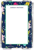 Emily Ley - Note Sheets in Acrylic (Fancy Floral)
