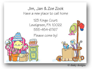 Dinky Designs Moving Cards - Moving Stuff (small)