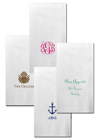 Boatman Geller - Create-Your-Own Linen-Like Personalized Guest Towels