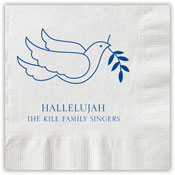 Boatman Geller - Letterpress Napkins (Peace Dove)