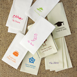 Guest Towels with Optional Motif by Rytex