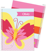 Spark & Spark Note Notebooks - Smiley Butterfly