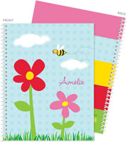 Spark & Spark Note Notebooks - Spring Flowers
