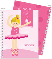 Spark & Spark Note Notebooks - Love For Ballet (Blonde)