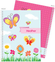 Spark & Spark Note Notebooks - A Butterfly World
