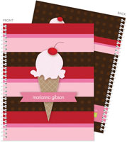 Spark & Spark Note Notebooks - Strawberry Cone