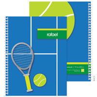 Spark & Spark Note Notebooks - Tennis Fan