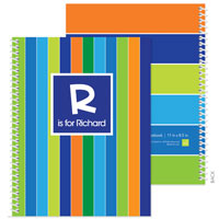 Spark & Spark Note Notebooks - Bold Stripes