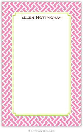 Boatman Geller - Create-Your-Own Personalized Notepads (Stella Bubblegum)
