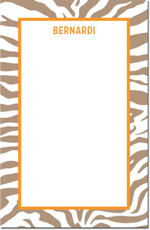 Boatman Geller - Create-Your-Own Note Pads (Zebra)