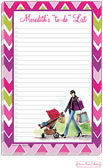 Bonnie Marcus Collection - Notepads (Strolling Mom)