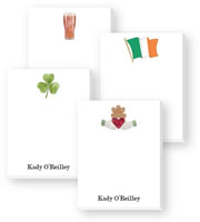 Cute Collection Notepads by Donovan Designs - Irish