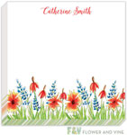 Flower & Vine - Notepads (Texas Wildflowers)