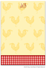 Stacy Claire Boyd Stationery - Good Morning Rooster (Padded Stationery)