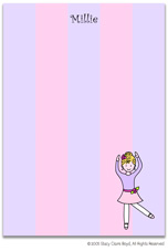 Stacy Claire Boyd Stationery - Ballerina (Padded Stationery)