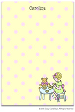 Stacy Claire Boyd Stationery - Tea Party (Padded Stationery)