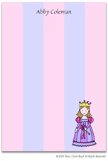 Stacy Claire Boyd Stationery - Little Princess (Padded Stationery)