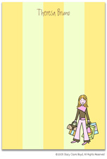 Stacy Claire Boyd Stationery - Fashion Avenue (Padded Stationery)