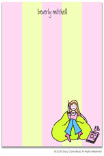 Stacy Claire Boyd Stationery - Girl Talk (Padded Stationery)