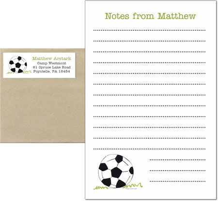 A Sugar Cookie Product - Camp Pad Sets (Soccer Ball)