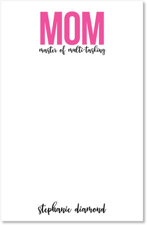 Mom Note Pads by idesign + co - Mom Tasking
