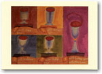 Indelible Ink Passover Card - The Five Cups