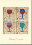Indelible Ink Passover Card - The Four Cups of Wine