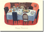 Indelible Ink Passover Card - The Seder Table #2