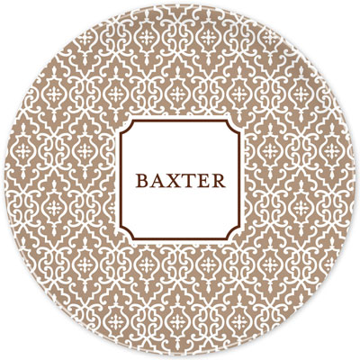 Boatman Geller - Create-Your-Own Melamine Plates (Wrought Iron)