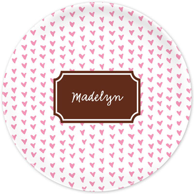 Boatman Geller - Create-Your-Own Melamine Plates (Amor)