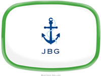 Boatman Geller - Create-Your-Own Personalized Melamine Platters (Icon with Border)