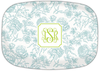 Boatman Geller - Create-Your-Own Platters (Floral Toile)