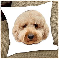 Pup Notes Throw Pillows by Namedrops (Create-Your-Own)