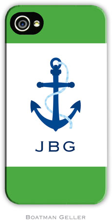 Boatman Geller - Create-Your-Own Personalized Hard Phone Cases (Icon with Border)