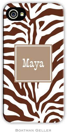 Boatman Geller - Create-Your-Own Personalized Hard Phone Cases (Zebra)